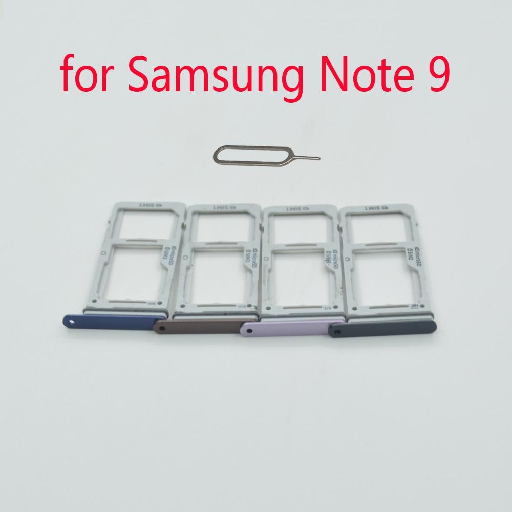 Sim Tray Adapter For Samsung Galaxy Note 9 N960 N960F N960N N960U N960U1 N960W Original Phone Housing SIM Micro SD Card Holder