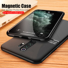 Magneet Tpu Case Voor Xiaomi Redmi Note 8 7 8T 5 Pro 7A 8A K30 K20 Coque Siliconen Auto houder Case Cover Voor Redmi Note 8 Pro Coque(China)