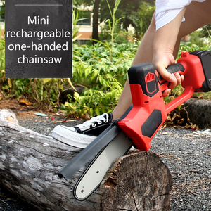 Portable Electrical Hand Saw Chainsaw Pruning Wood Adjustable Universal Garden Logging Cutting Saw Tool Kit