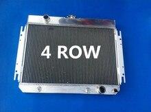 Heißer Verkauf 4 Reihe Aluminium Heizkörper Für Chevy Impala V8 El Camino 1963-1968 1964 1965 1966 1967 1968