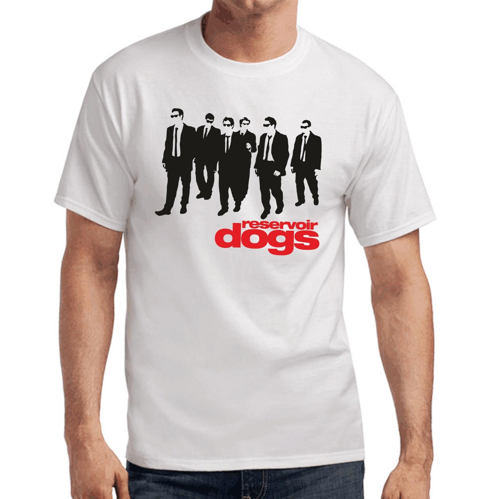Reservoir Dogs Quentin Tarantino Culte Movie Retro Fan Fanshirt Stencil T-Shirt
