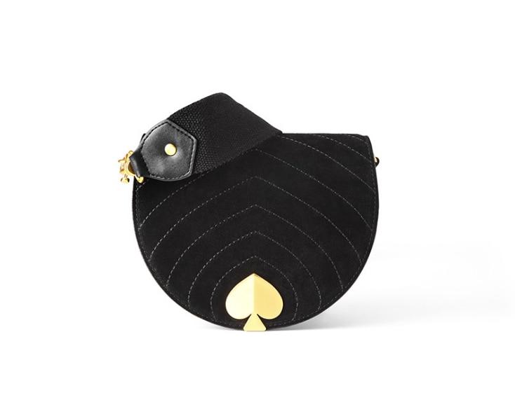 Winter Vintage Velvet Heart Belt Bag Waist Packs Small Saddle Bags For Women