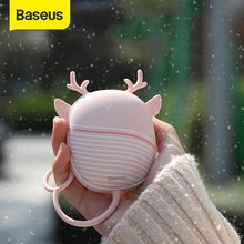 Heater Pocket Lamp Hand-Warmer Heating-Pad USB Mini Rechargeable Baseus with Cartoon
