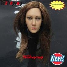 Экшн фигурка dstoys d 002 1/6 аксессуар женская голова лепка
