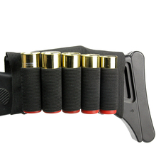 10 round 12gauge 12ga molle pouch tactical shell holder ammo bag military army hunting bandolier cartridges bullet holder bag Tactical Bullet Pouch Bag Ammo Carrier 12GA Military Airsoft Shell Holder 5/8 Round Gun Cartridge Buttstock Hunting Accessories