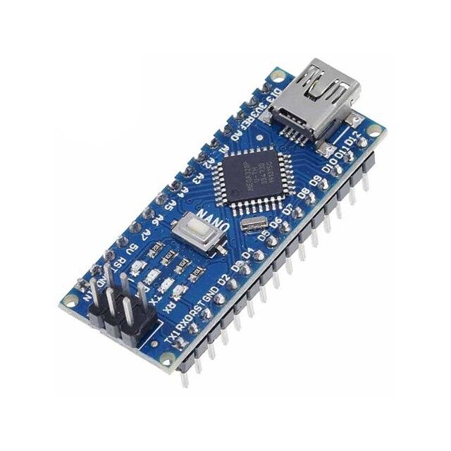 A18-- Nano 3.0 controller nano CH340 USB driver ATMEGA328 ATMEGA328P nano Mini USB With the bootloader For Arduino