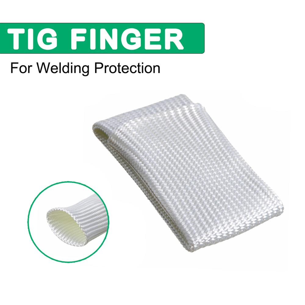 Professional TIG Finger Heat Shield Cover Guard Weld Welding Gloves Heat Protection For TIG Welding Welders