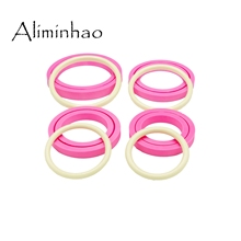 DY0161 Inner diameter 3.1/3.54/3.9/4.7inch resin silicone cylindrical bracelet mould for jewelry making wristbands keychain mold