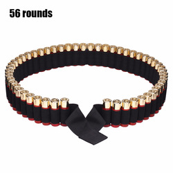 Outdoor Sports 50-hole Shooting Belt Tactical 12G Bullet Belt CS Field Hunting Shot Containment Belt
