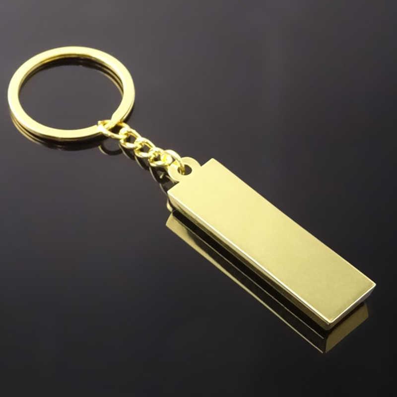 זהב לבנים רכב Keychain אוטומטי אופנוע מפתח שרשרת טבעת עבור סאאב אאודי פולקסווגן אופל וולוו סקודה רנו יונדאי פיג 'ו לאדה BMW מפתוח
