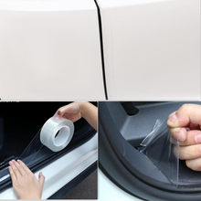 Nova quente adesivos de carro tira porta do carro guarda borda protetor para mitsubishi l200 toyota camry 50 mazda 3 bl hyundai elantra kia k3