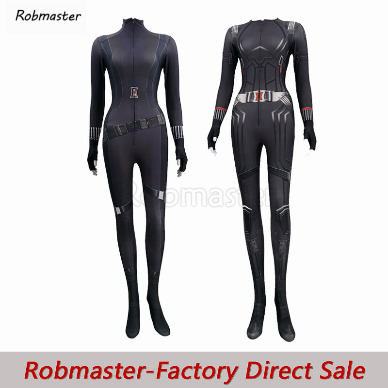 2020 New Movie Black Widow Natasha Romanoff Cosplay Costume Spandex Zentai Bodysuit Natalia Alianovna Romanova Halloween Costume