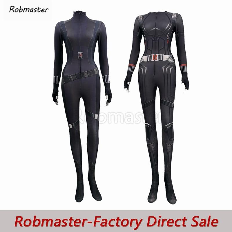 2020 New Movie Black Widow Natasha Romanoff Cosplay Costume Spandex Zentai Bodysuit Natalia Alianovna Romanova Halloween Costume