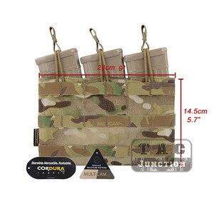 Image 5 - Emerson tático 5.56. 223 triplo aberto superior compartimento bolsa emersongear molle/pals mag bolsa webbing puxar abas acessórios rápidos