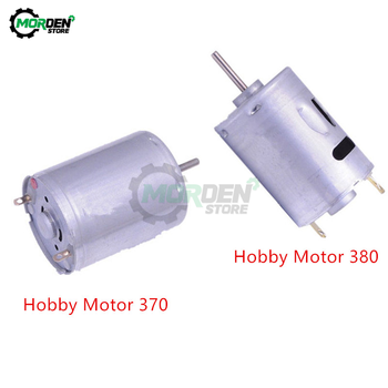 Hobby Motor 370 380 DC Motor DC 12V 24V High Speed Hobby Toy Micro Motor High Torque for Smart Car Electronic DIY image