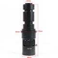 Agnicy ультра-прозрачный 0 7-5.0X непрерывный зум 500x видео оптический объектив однотрубный электронный микроскоп может быть заблокирован