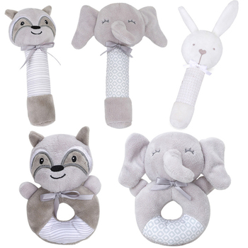 Funny Animal Baby Toys Little Loud Bell Ball Rattles Mobile Toy Baby Newborn Infant Intelligence Grasping Educational Toys Gift boys girls baby activity toy fun little loud ball toy rattles develop baby intelligence grasping toy molar hand bell rattle