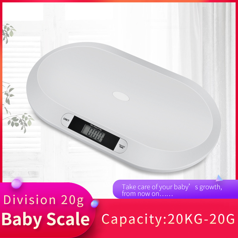 Baby weight scale multi-function digital display smart home baby electronic scale health scale baby weight baby things 20kg