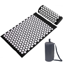 Pillow-Set Massage-Cushion Acupressure-Mat Yoga-Mat Muscle-Relaxation Portable And