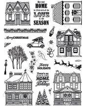 Casas Claras Selo Ou carimbo para DIY Fazer Scrapbooking/Cartão/Fun Kids Decoração Suprimentos A099