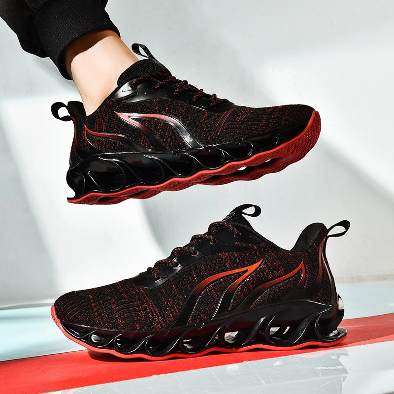 Plus Size Air Sole Trainers Men Sneakers Man Running Shoes For Men Shoes Sport Men Black Men's Sports Shoes Mens Runners E-349