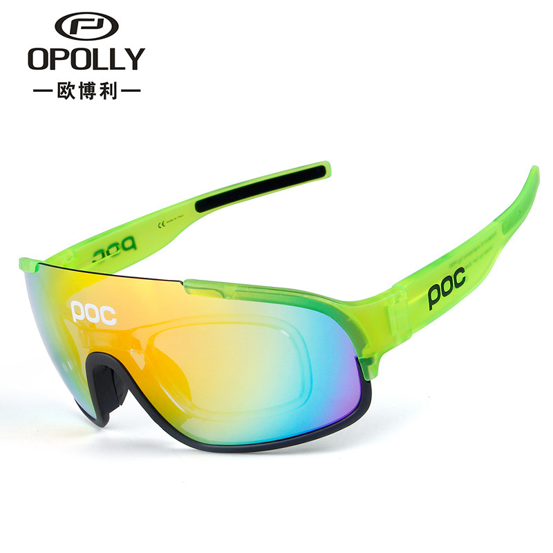 New Style POC Crave Polarized Light Outdoor Sports Glasses for Riding Bicycle Polarized Light Sports Sunglasses