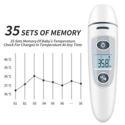 Baby Thermometer Infrared Digital LCD Body Measurement Non-Contact Wholesale Adult Body Fever Children Termometro Drop Ship
