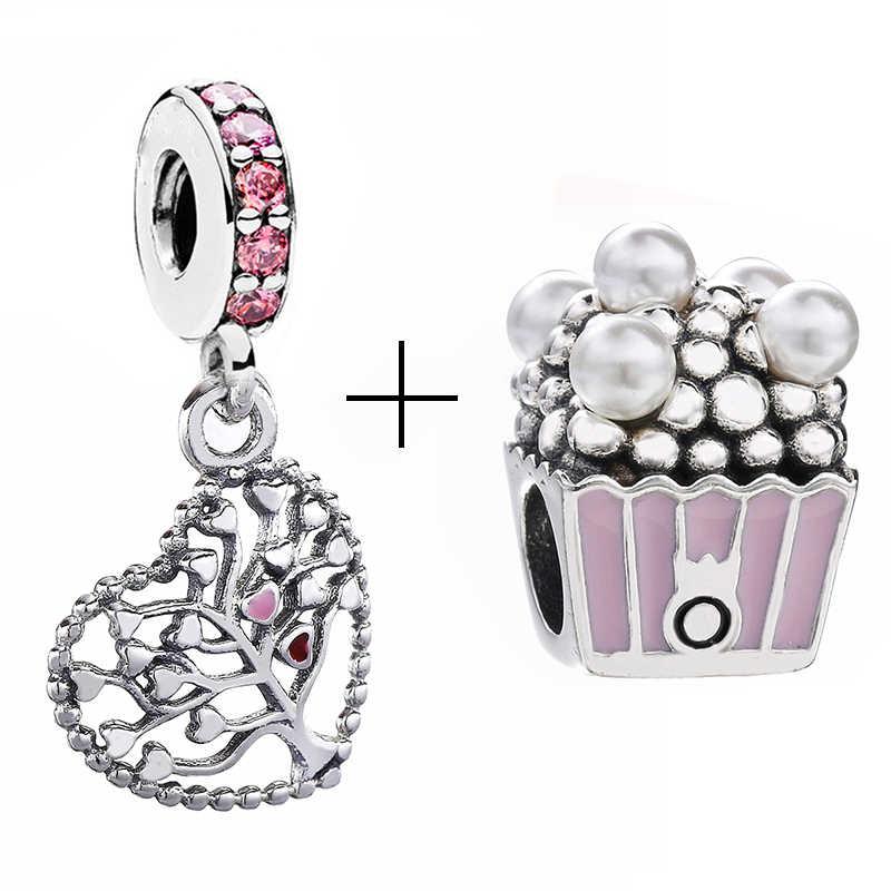 2 Teile/los Spezielle Angebot Liebe Stern Regenbogen Charme Perlen Fit Marke Armband & Halsketten Für Frauen DIY Machen Schmuck Zubehör