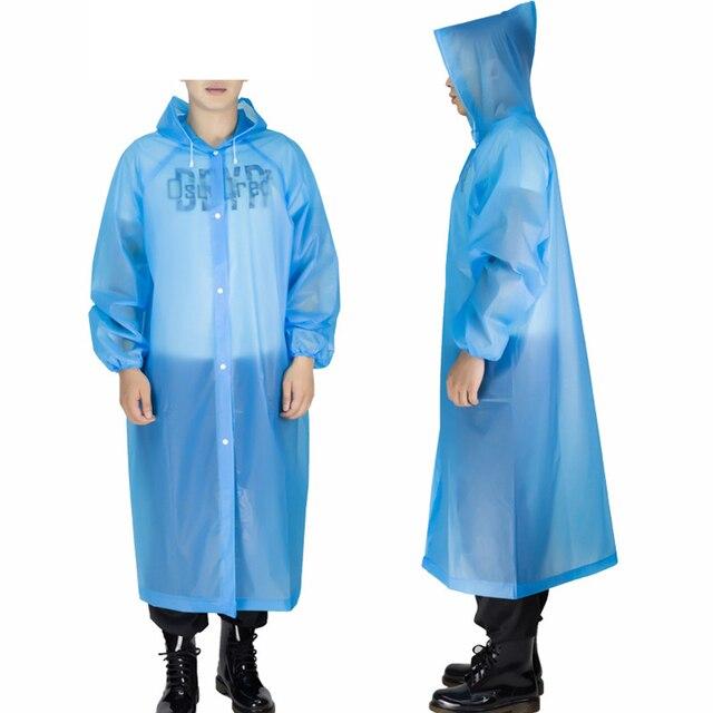 ADULT EMERGENCY PONCHO Waterproof Rain Coat Cape Mac Disposable Festival Camping