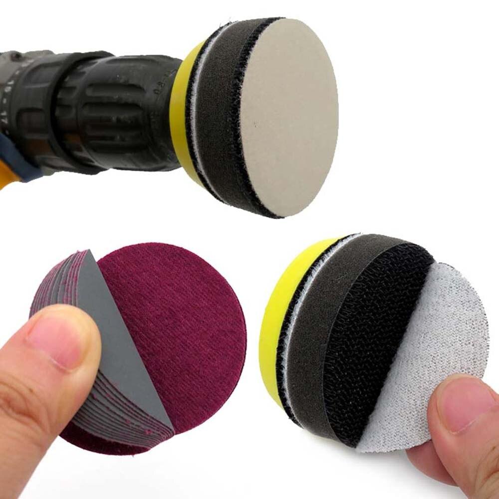 100Pcs 2 Inch Wet & Dry Sanding Discs Sandpaper Disc Sand Paper Polishing Pads