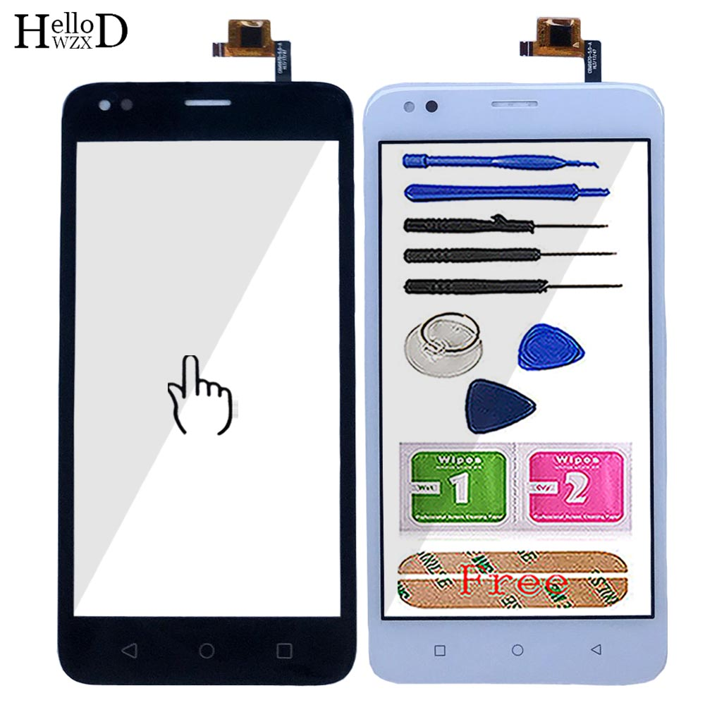 Mobile Touch Screen For Assistant As-5411 Digitizer Panel Front Glass TouchScreen Lens Sensor Tools 3M Glue Wipes