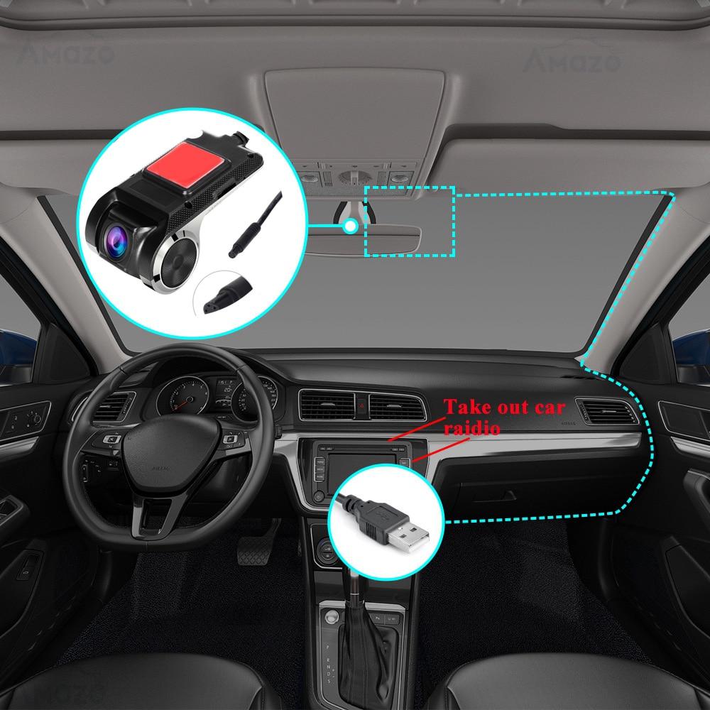 HD Dash Cam Dvr Dash Camera Car DVR Car video surveillance ADAS Dashcam android dvr Car recorder Night Version Auto Recorder 2