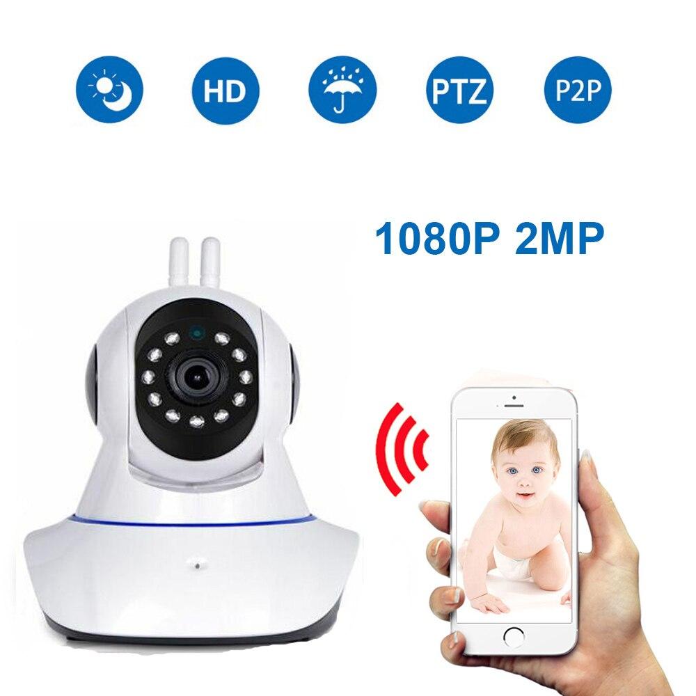 1080P IP камера беспроводной связи WiFi беспроводной кабель для камеры cctv IR ночного видения P2P умный миниатюрный Детский Монитор видеокамера для
