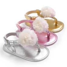 Сандалии для новорожденных и маленьких девочек; Нескользящие