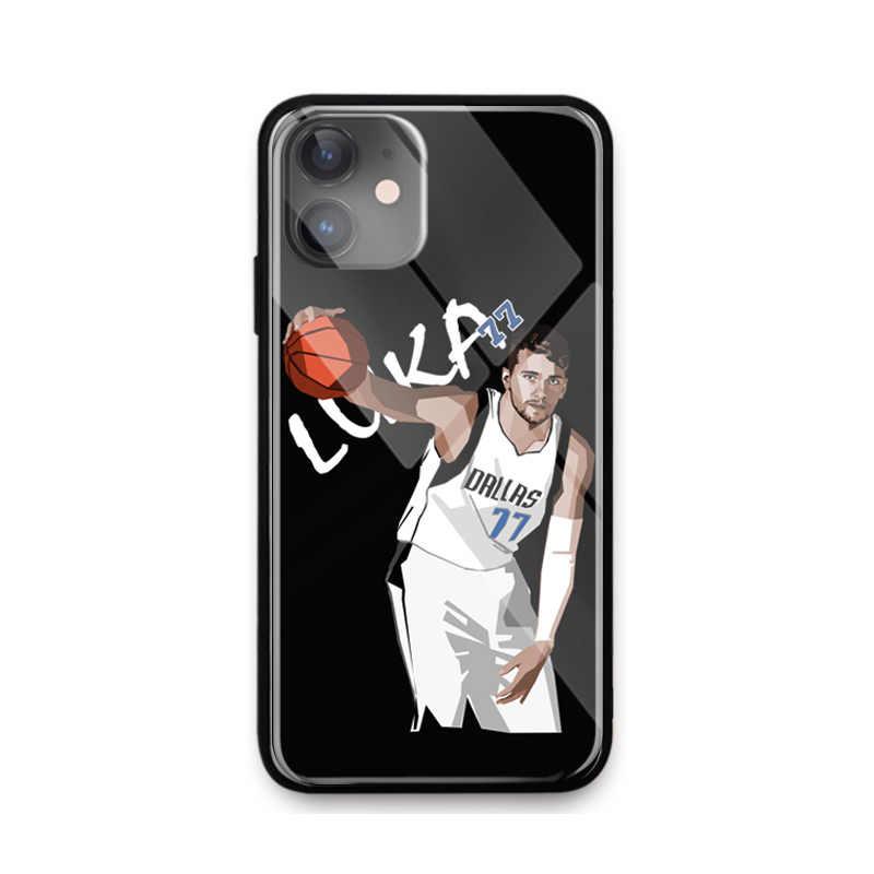 Star for iPhone SE 6 6s 7 8 plus x xr xs 11 Pro 최대 강화 유리 전화 케이스 커버 소프트 실리콘