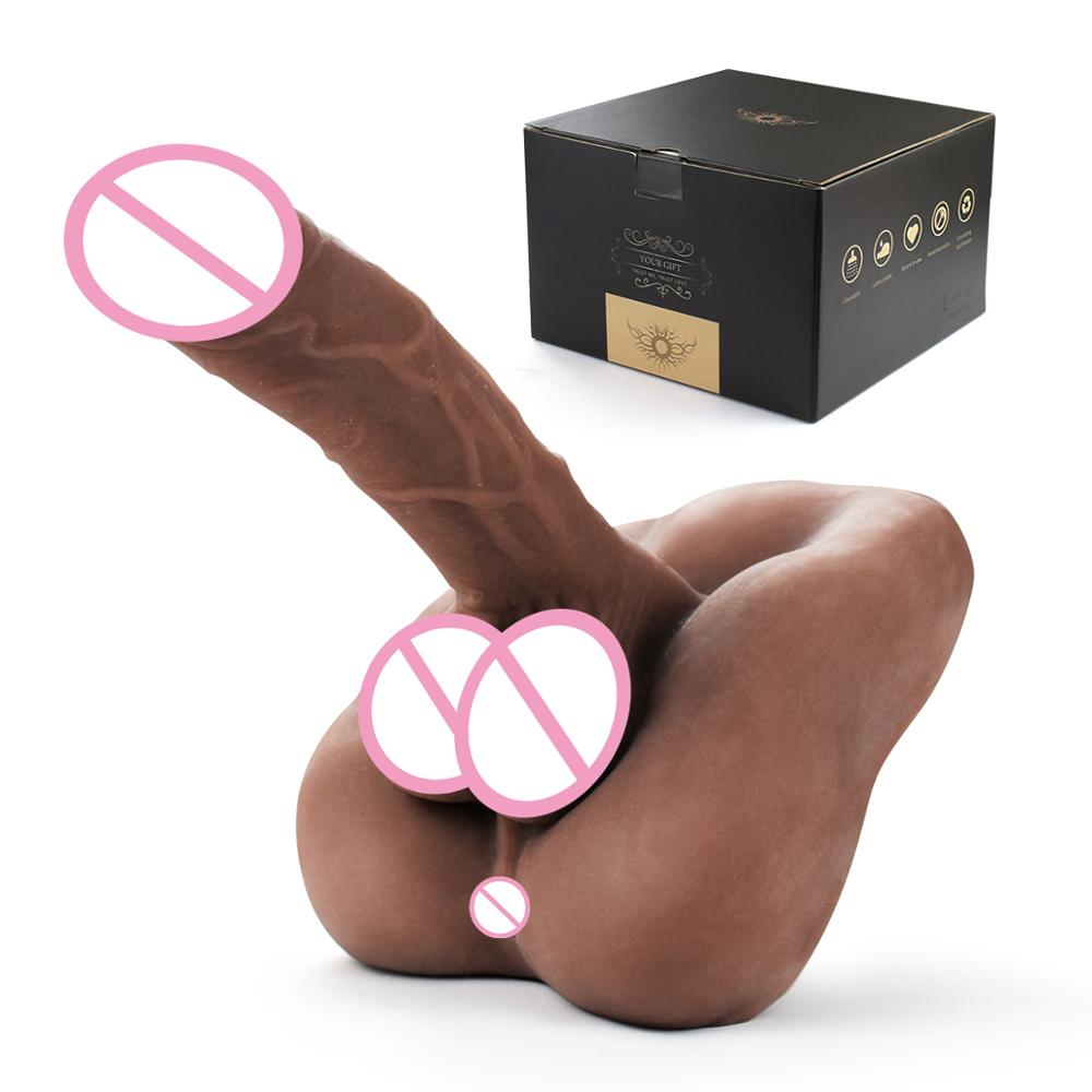 Silicone Dildo Realistic Sex Doll Male Penis Soft Flexible Silicone Female Sex Toy For Man Women Gay Couple