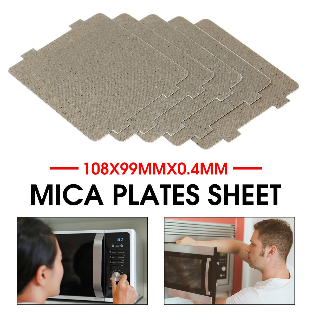 5pcs Microwave Oven Mica Tablets Replacement Part For Home appliances Parts such as Electric Hair-dryer Toaster Microwave Oven