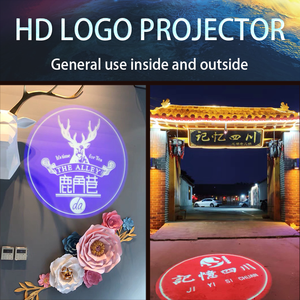 Image 4 - Outdoor Waterproof LED Customized Image Sign Rotate Remote Projection Lamp Custom Advertising Logo Projector Light