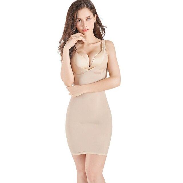 Women Control Slips Women's Underwear Petticoat Under Shaper Dress Intimates Combination Petticoat Sexy Lingerie Shapewear 1