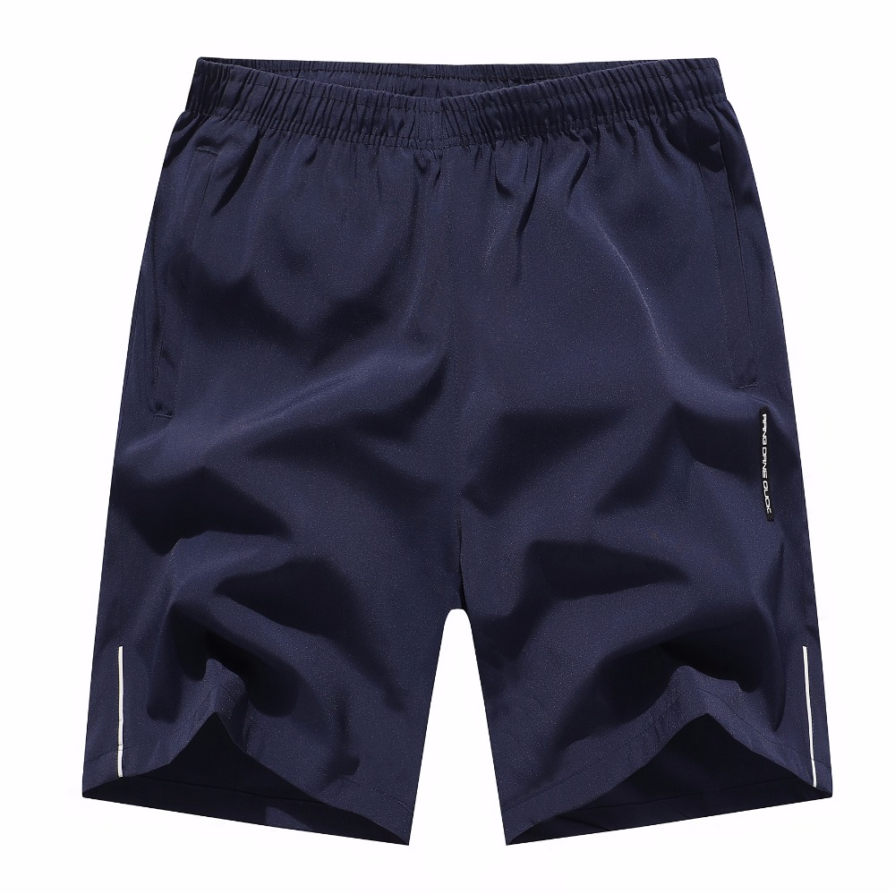 Casual Shorts Bermuda Elastic-Waist Plus-Size Mens Cotton 6XL Solid Masculina ZXG4 Top-Quality