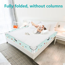 baby safe fence Multifunction One-click folding Bed fence child fence Large bed 1.8-2 m universal bed baffle(China)
