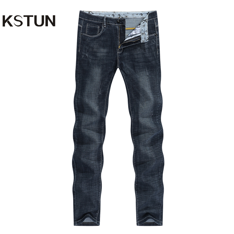 Mens Jeans Black Famous Brand Slim Straight 2020 Summer Full Length Trousrs Men's Clothing High Quality Male Jeans Wholesales