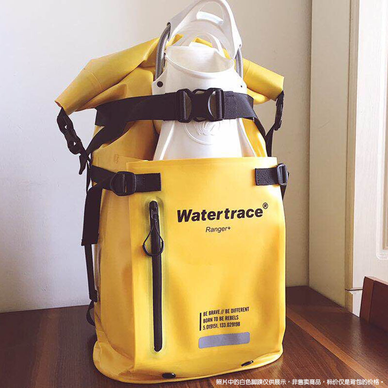 45L 25L 水かき足ドライバックパックドリフト川シュノーケリングサーフィンフローティングボートラフティング自由ダイビング防水バッグ -
