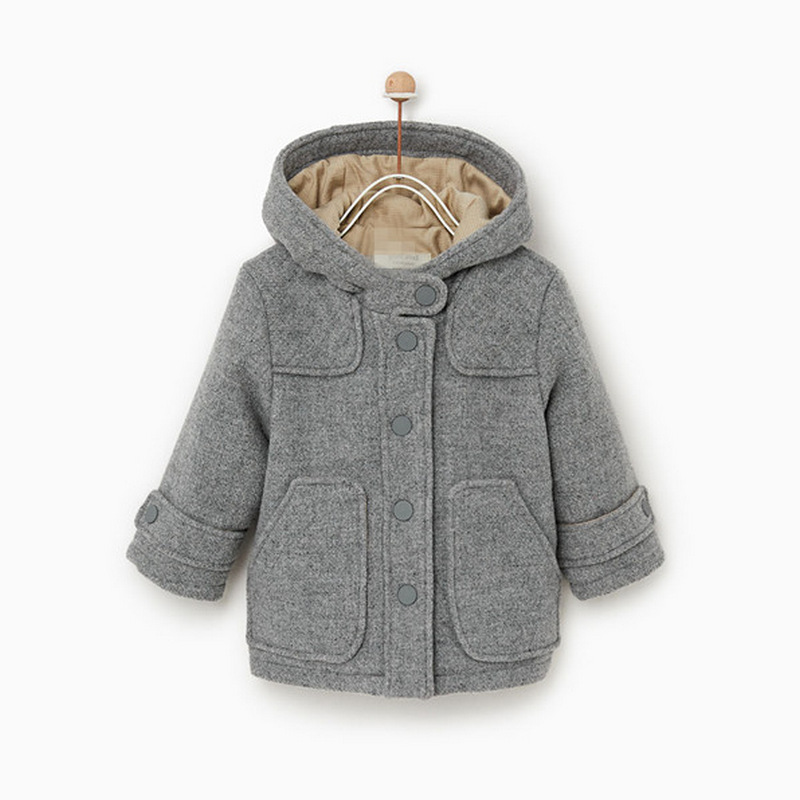 Mihkalev Baby Girl Jacket Winter Children Thicken Clothing Outerwaer Kids Clothes Boys Warm Wind Coat Girls Overcoats
