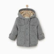 Mihkalev Baby girl jacket winter children thicken clothing o