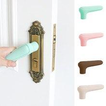Nouvelle poignée de porte en Silicone, Protection contre les accidents pour enfants, Suite de poignées de porte, gants de Protection