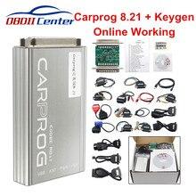 DHL Carprog V8.21 wersja Online narzędzie do naprawy samochodów pełny zestaw samochodów Prog Firmware 8.21 Ecu Chip stroik lepiej niż Carprog 10.93