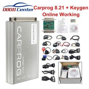 Image 1 - ĐHG Carprog V8.21 Phiên Bản Trực Tuyến Tự Động Công Cụ Sửa Chữa Toàn Bộ Xe PROG Miếng 8.21 ECU Điều Chỉnh Chip Công Cụ Tốt Hơn carprog 10.93
