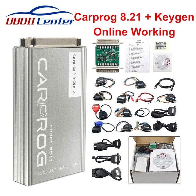 ĐHG Carprog V8.21 Phiên Bản Trực Tuyến Tự Động Công Cụ Sửa Chữa Toàn Bộ Xe PROG Miếng 8.21 ECU Điều Chỉnh Chip Công Cụ Tốt Hơn carprog 10.93