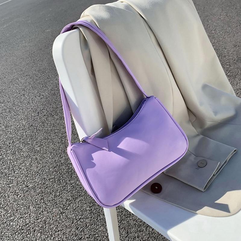 Retro Totes Bags For Women 2020 Trendy Vintage Handbag Female Small Subaxillary Bags Casual Retro Mini Shoulder Bag 4